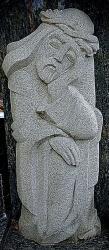 Paminklas iš granito - ,, Rūpintojėlis ,, - 165 cm aukštis
