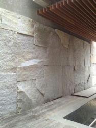 Sienu apdaila granitu -