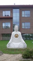 Skulptura ,, MASTYTOJAS ,, granitas, svoris 8 tonos