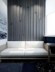 Dekoratyvine  siena - travertinas , marmuras